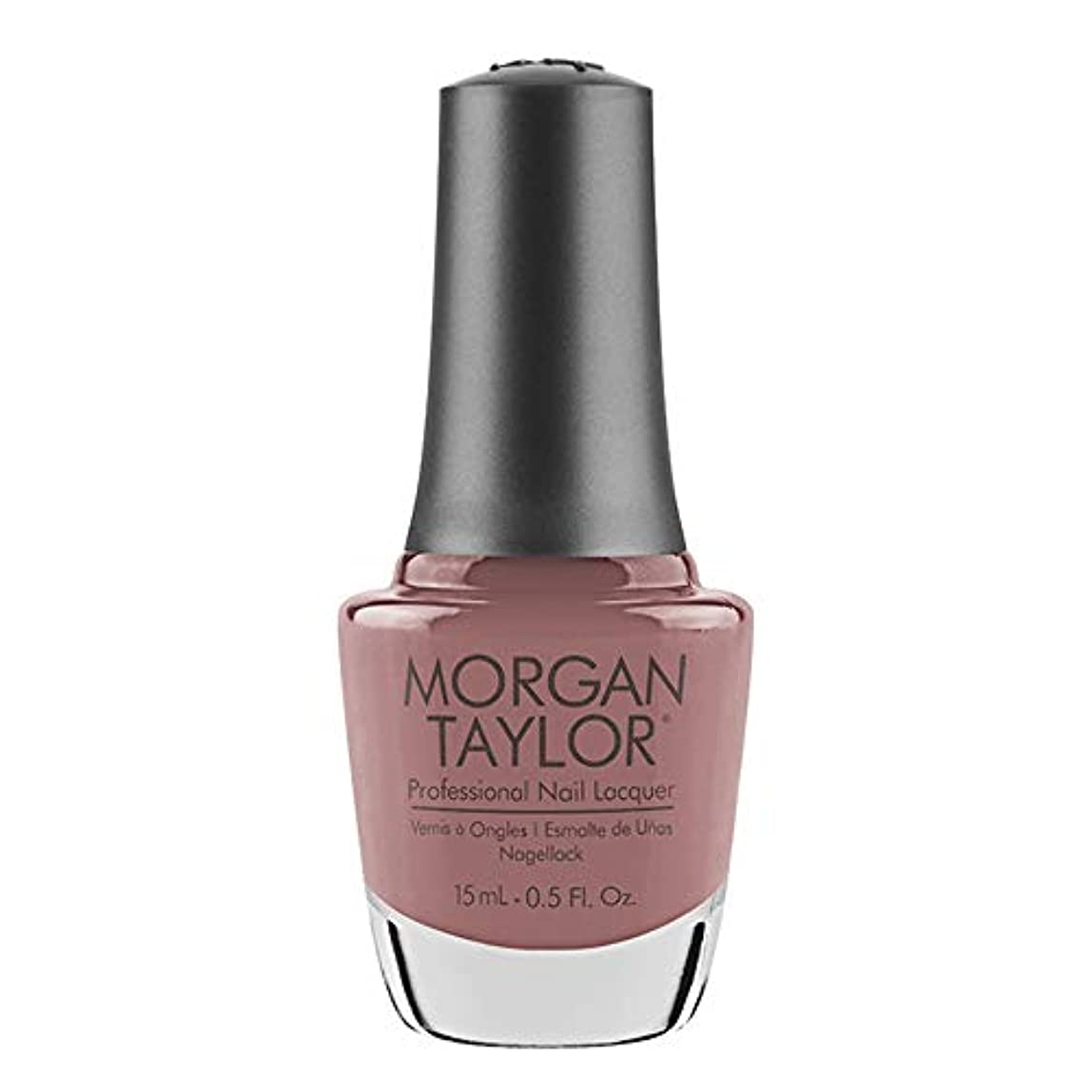 関数わがまま高原Morgan Taylor - Professional Nail Lacquer - Mauve Your Feet - 15 mL / 0.5oz