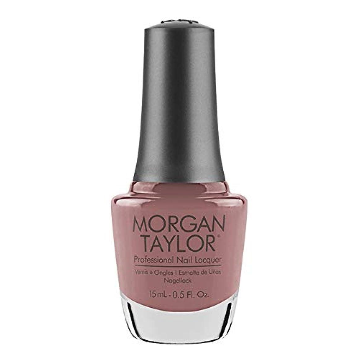 同様の放射する摩擦Morgan Taylor - Professional Nail Lacquer - Mauve Your Feet - 15 mL / 0.5oz