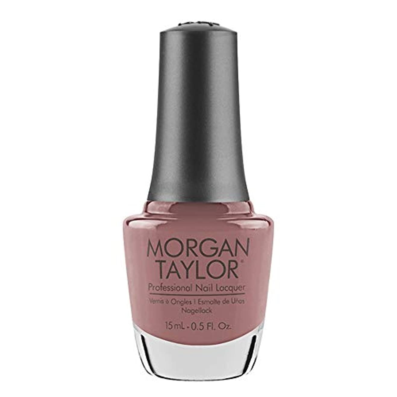 有彩色のいま磁石Morgan Taylor - Professional Nail Lacquer - Mauve Your Feet - 15 mL / 0.5oz