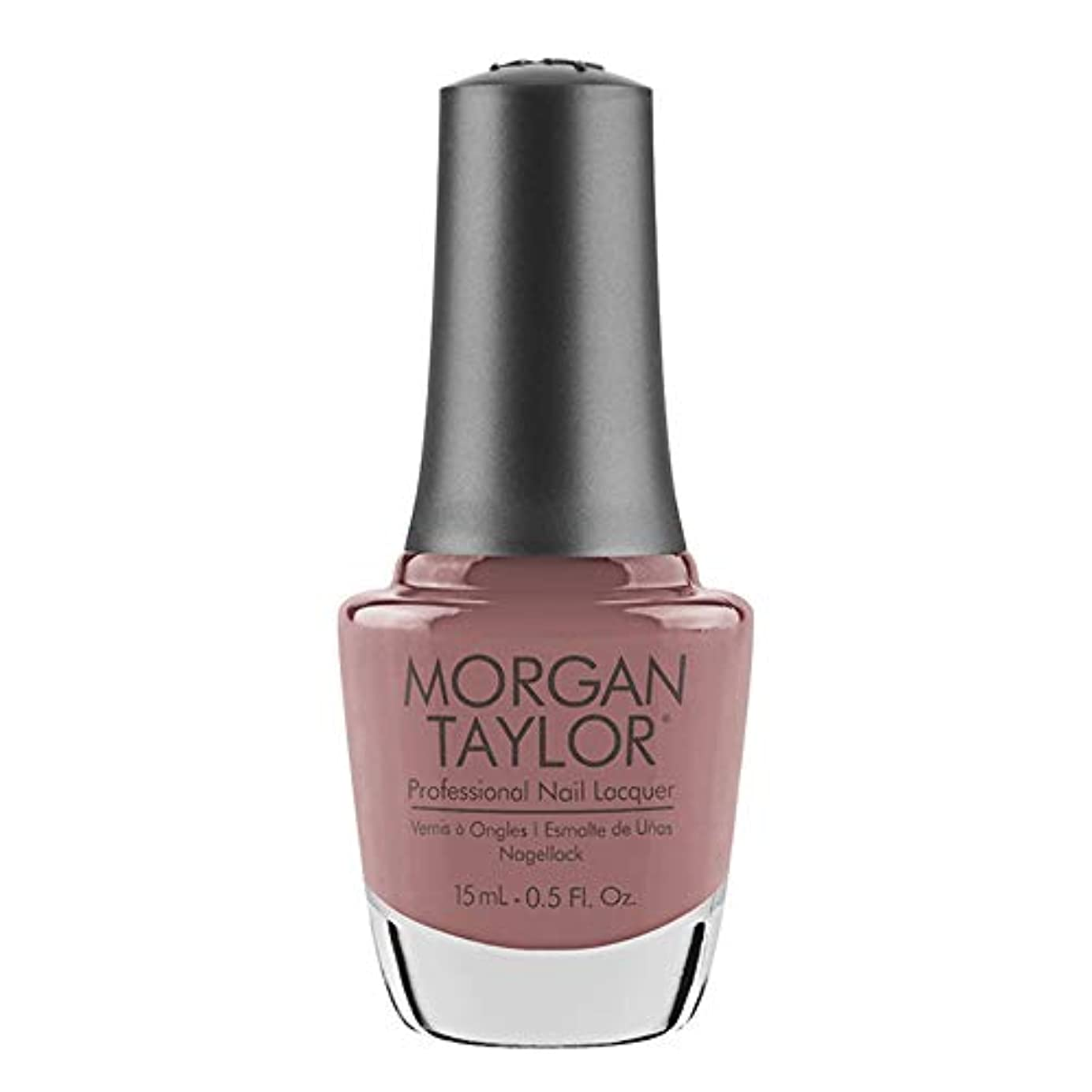 安全に頼る討論Morgan Taylor - Professional Nail Lacquer - Mauve Your Feet - 15 mL / 0.5oz