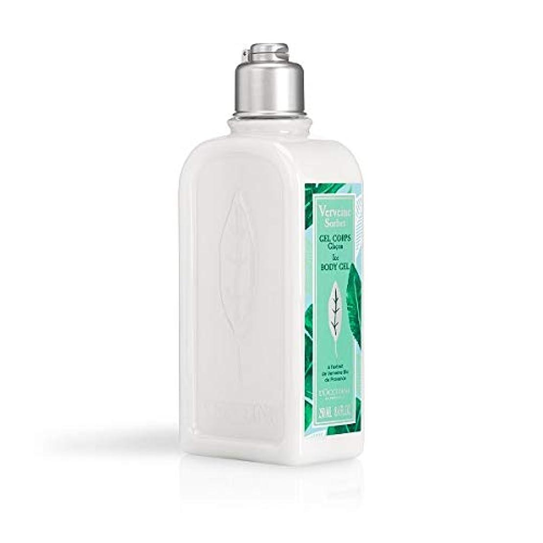 値下げ支払う生命体ロクシタン(L'OCCITANE) ミントウ゛ァーベナ ソルベボディジェル 250ml(ボディ用乳液)
