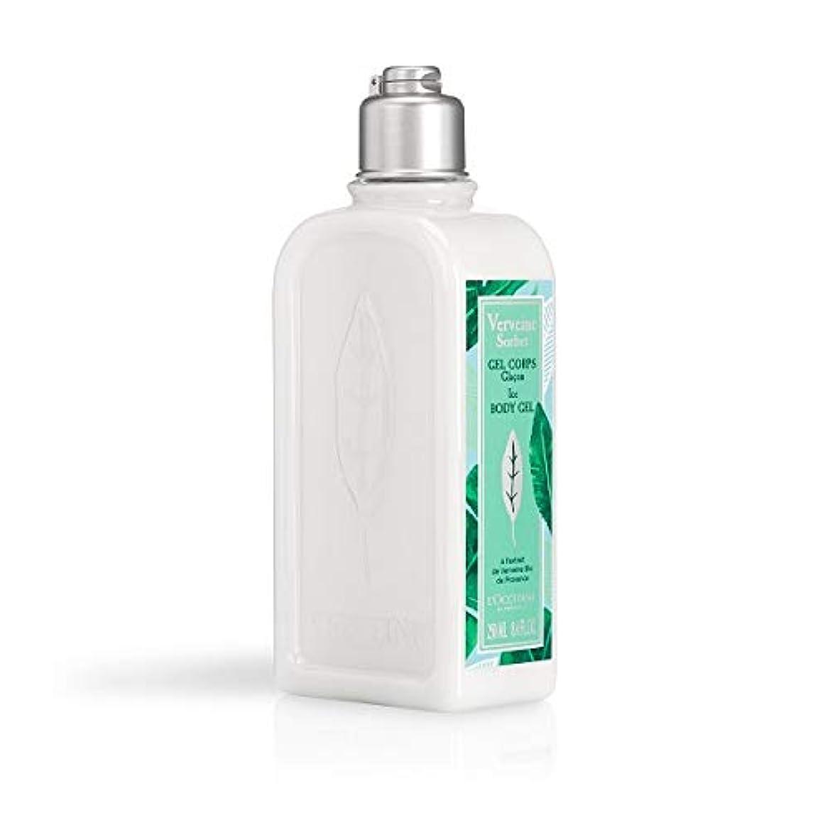 成長する満員スキャンダルロクシタン(L'OCCITANE) ミントウ゛ァーベナ ソルベボディジェル 250ml(ボディ用乳液)