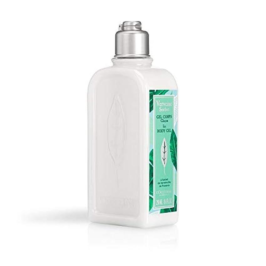 失業者フライト突進ロクシタン(L'OCCITANE) ミントウ゛ァーベナ ソルベボディジェル 250ml(ボディ用乳液)