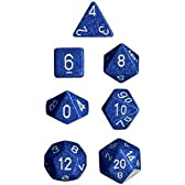 CHESSEX TRPGダイス/サイコロ Speckled Polyhedral(多面体) Water 7個セット