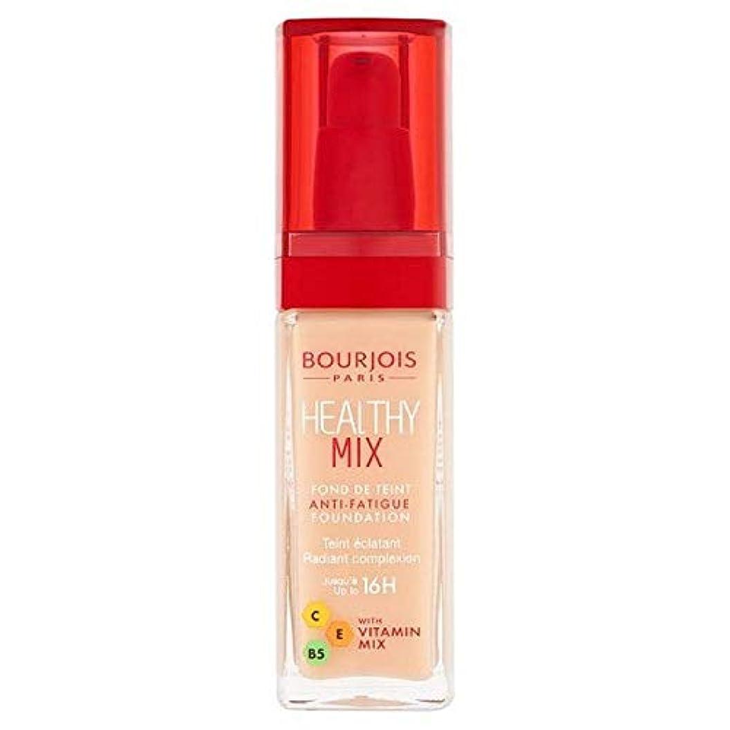 フィヨルド雹控えめな[Bourjois ] ブルジョワヘルシーミックス基盤50は、象牙のバラ - Bourjois Healthy Mix Foundation 50 Rose Ivory [並行輸入品]