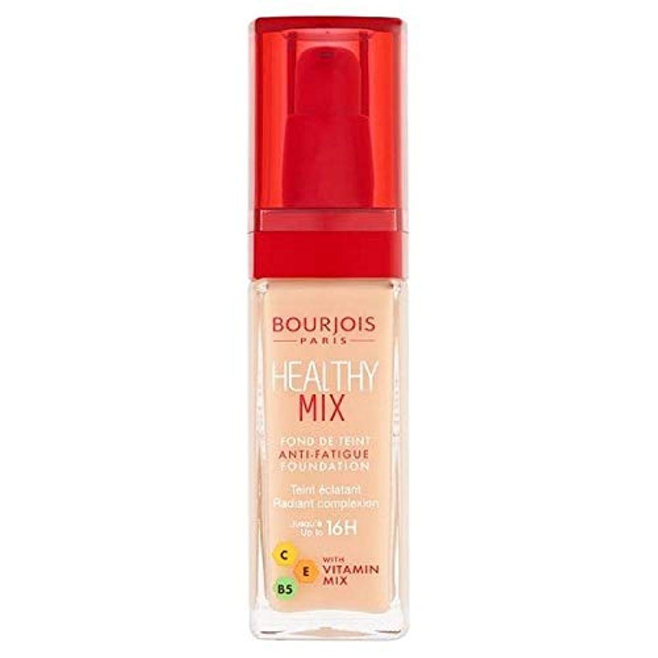 [Bourjois ] ブルジョワヘルシーミックス基盤50は、象牙のバラ - Bourjois Healthy Mix Foundation 50 Rose Ivory [並行輸入品]