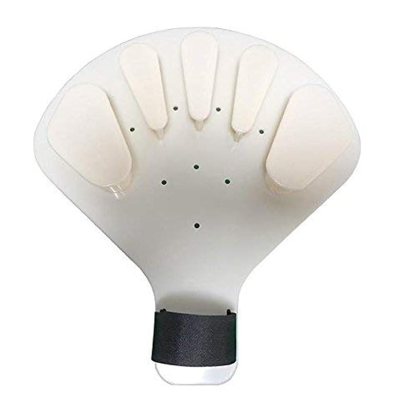ピボット警戒汚いプラスチック指装具指板片麻痺脳卒中手スプリント訓練サポート、大きな