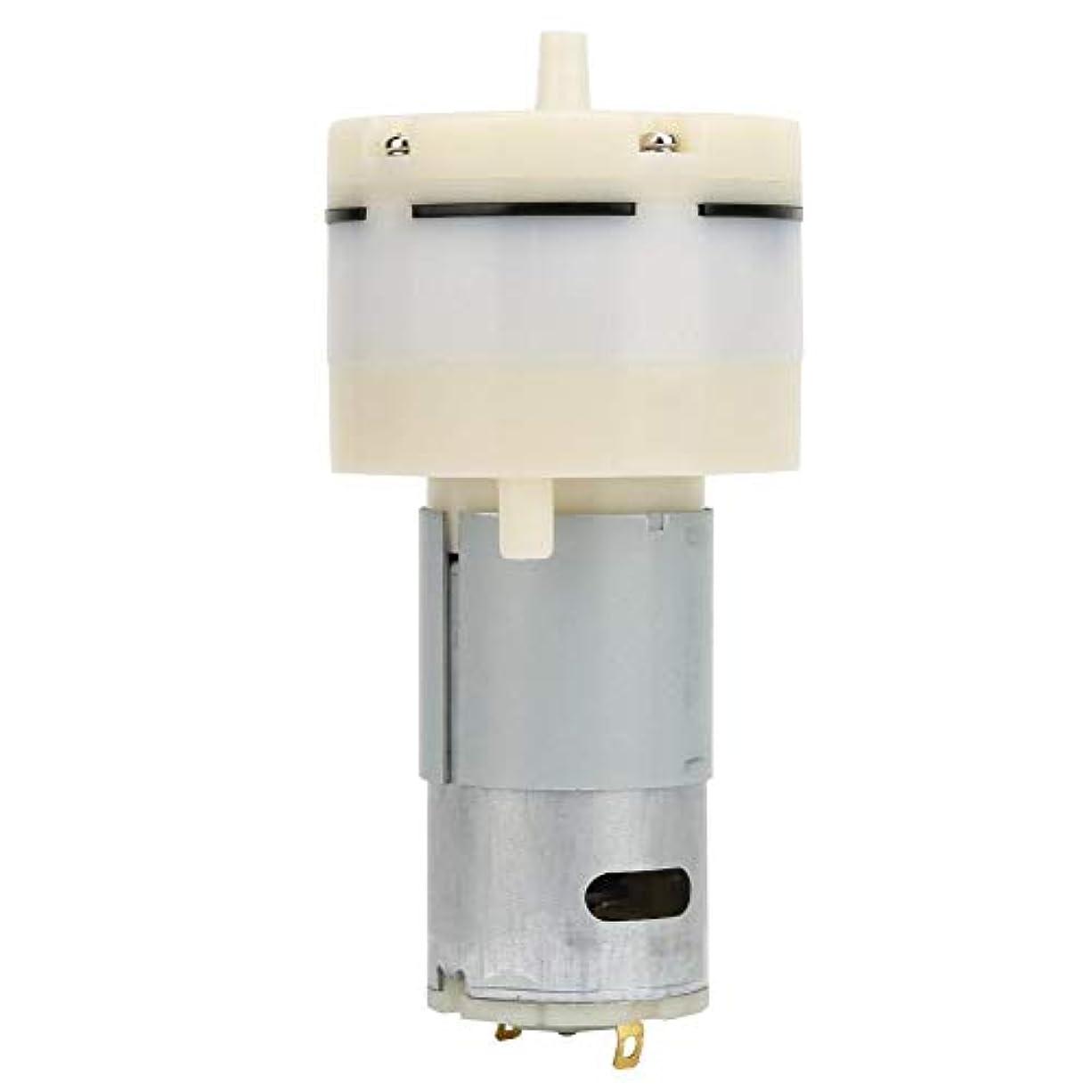 母音凍る接触12V DCエアポンプ、12L/Minミニ高圧ダイアフラム真空ポンプ化粧品用計器、真空包装機などの超静音設計