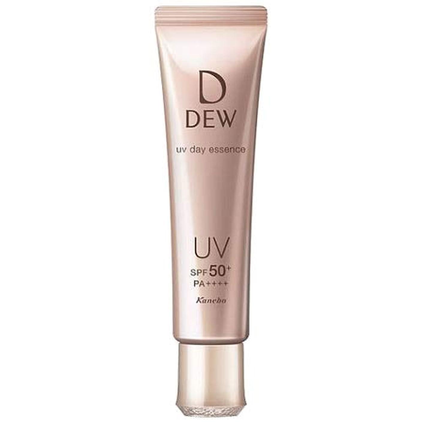 証拠純粋な望むカネボウ DEW UVデイエッセンス 40g UV美容液 SPF50+?PA++++ [並行輸入品]
