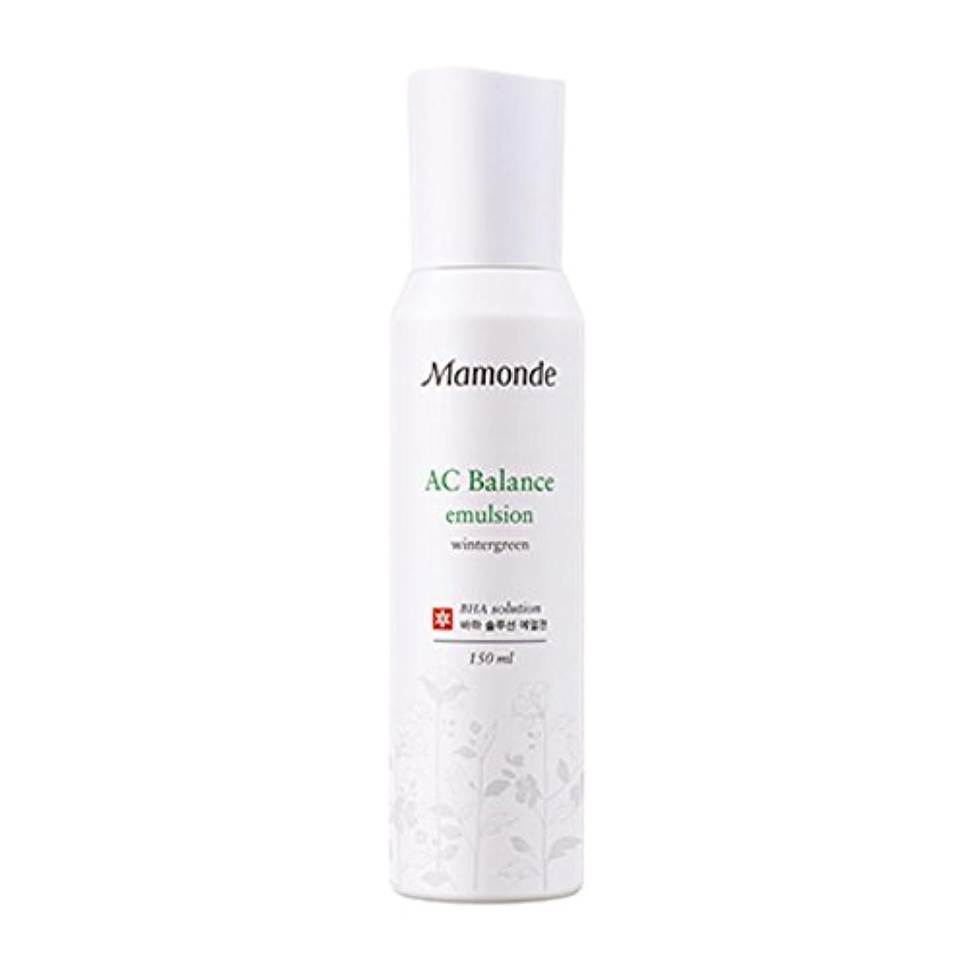 コミュニティ推定する十分[New] Mamonde AC Balance Emulsion 150ml/マモンド AC バランス エマルジョン 150ml [並行輸入品]