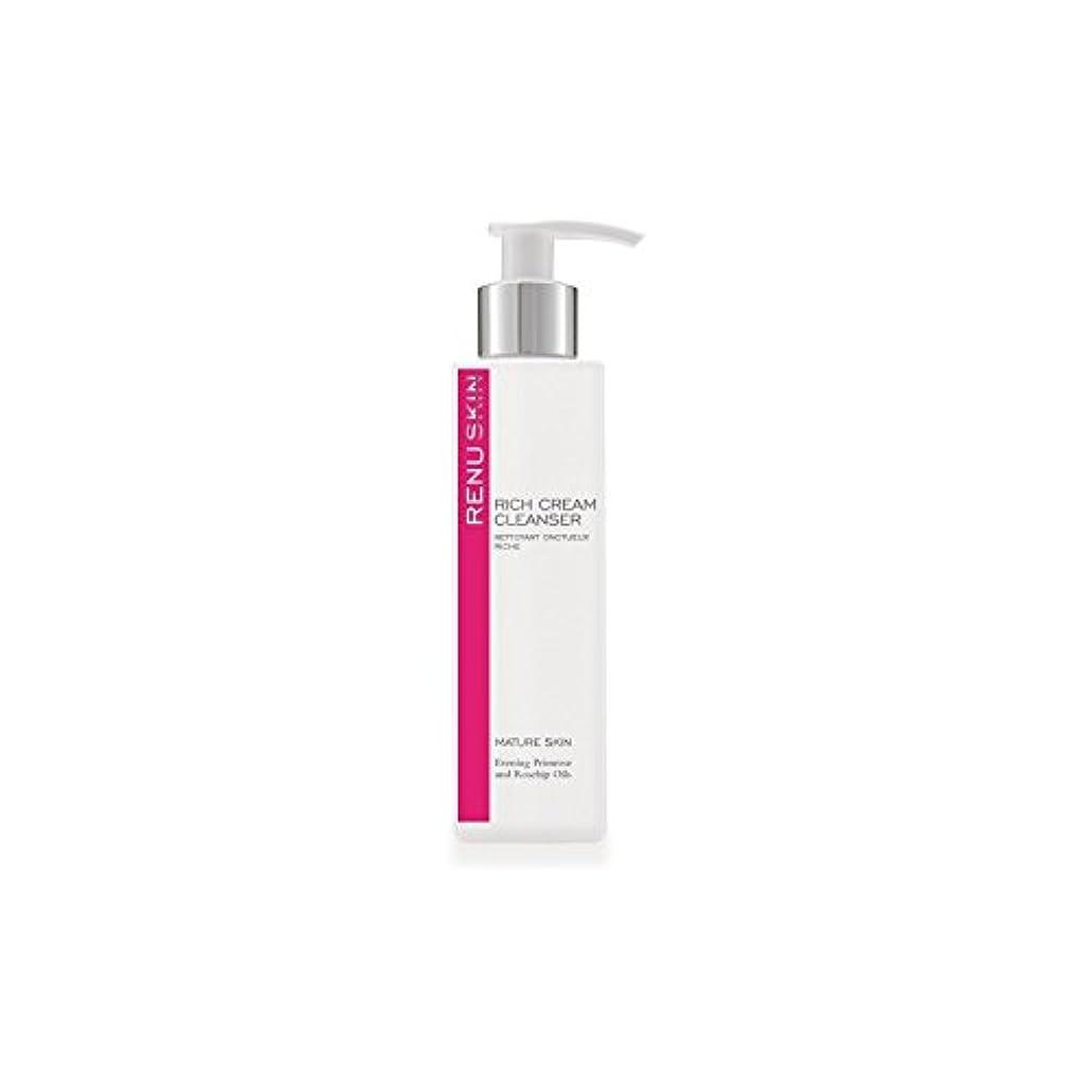 無人電気陽性収容するRenu Rich Cream Cleanser 180ml (Pack of 6) - 豊かなクリームクレンザー180ミリリットルをレーヌ x6 [並行輸入品]