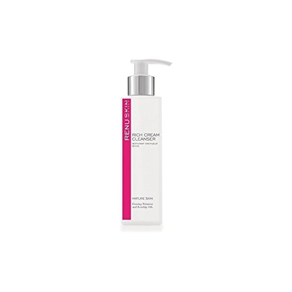 遺体安置所化粧アンティークRenu Rich Cream Cleanser 180ml (Pack of 6) - 豊かなクリームクレンザー180ミリリットルをレーヌ x6 [並行輸入品]