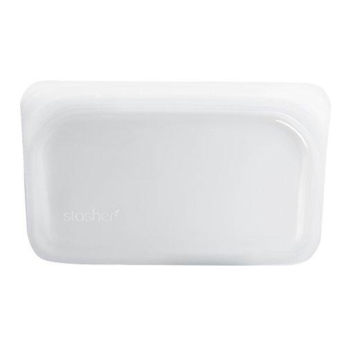 stasher スタッシャーシリコーンバッグ (クリア, Sサイズ) 保存容器 電子レンジ 低温調理 オーブン調理 可能
