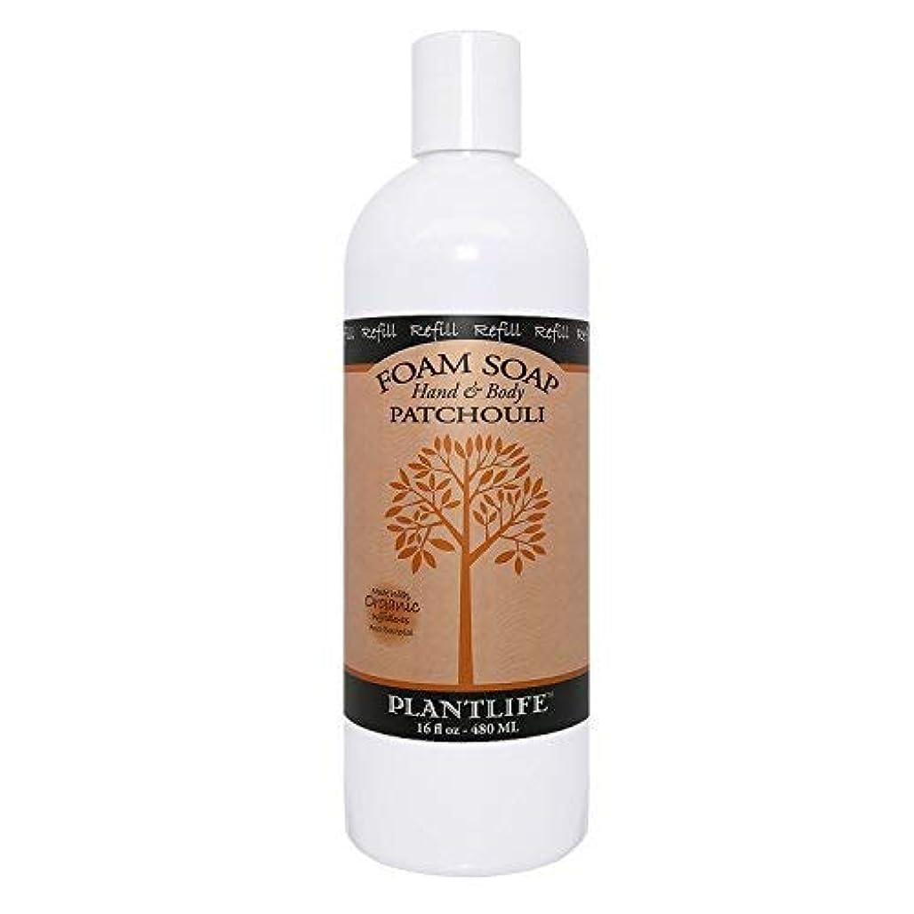 試用エスニック憧れPatchouli Hand & Body Foam Soap - 16oz Refill [並行輸入品]