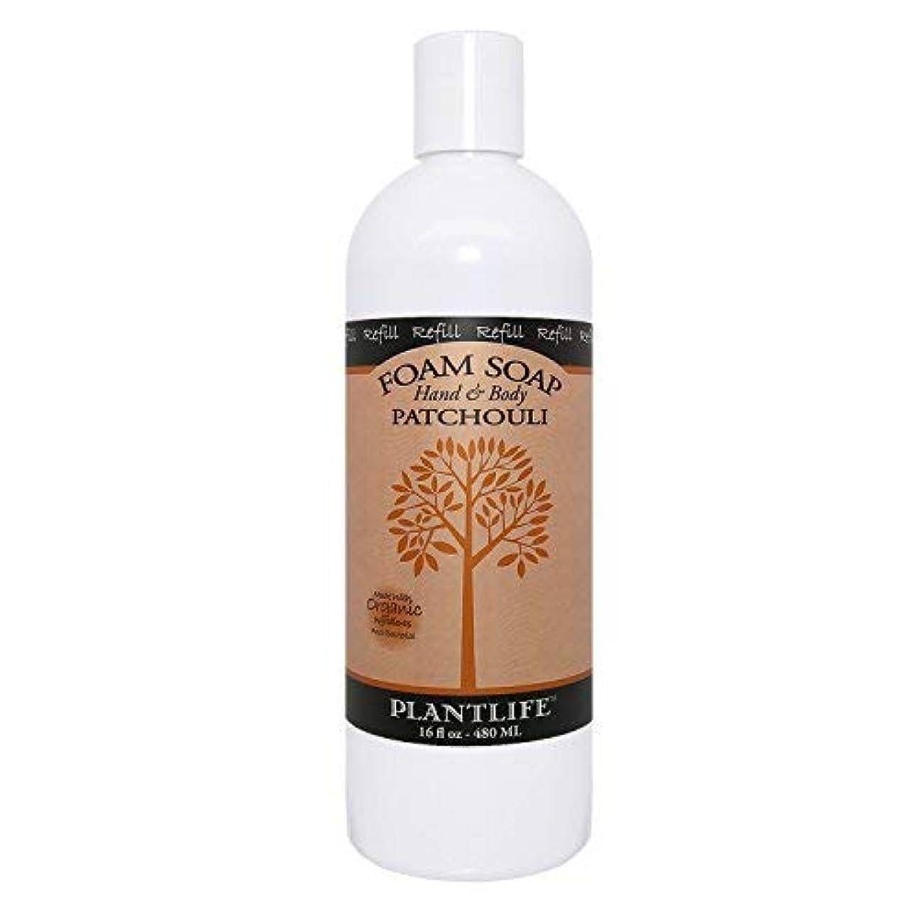リングに沿ってエコーPatchouli Hand & Body Foam Soap - 16oz Refill [並行輸入品]