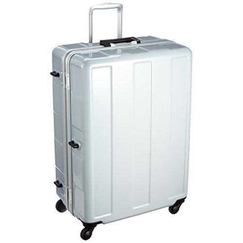 [プラスワン] PLUS ONE 軽量スーツケース 96L 5kg 無料預入受託サイズ シューズケース2個付き 120-67 ash GRAY (アッシュグレー)
