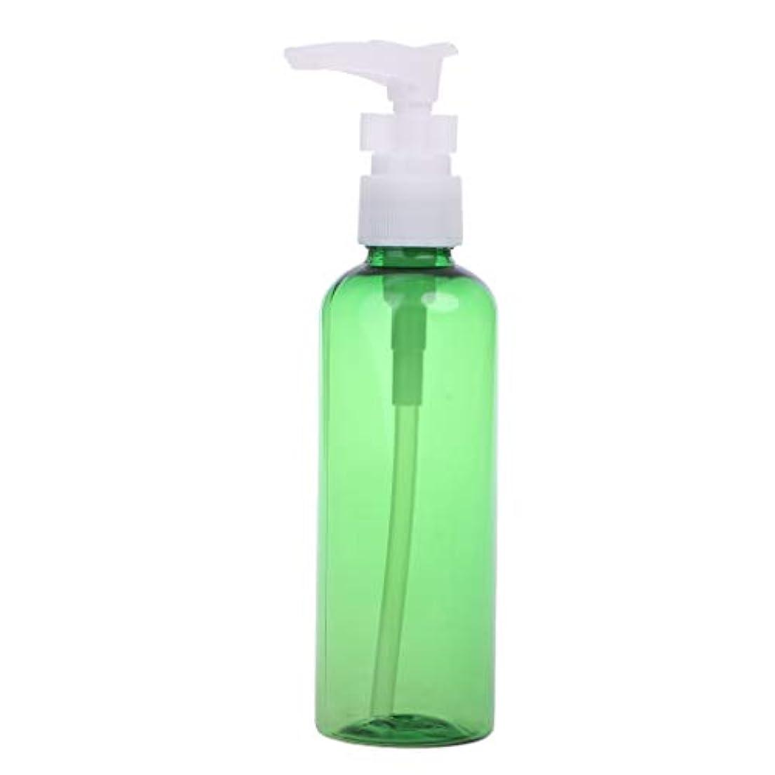 選択詩予想するDabixx 1ピース30ミリリットル - 100ミリリットル石鹸シャンプーローション泡水プラスチックプレスポンプスプレーボトル - 深緑 - 100ML