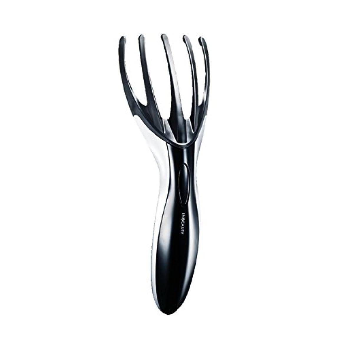 クランプ粘性の大きなスケールで見るとINBEAUTE FingerHeadSpa (インボーテ フィンガーヘッドスパ) ブラック