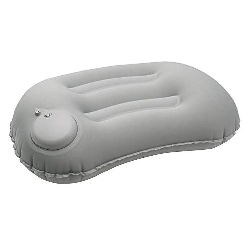 ウガンダ止まるボイラーSunnFx エアーピロー 携帯枕 空気枕 収納袋付き 手動プレス式 軽量 折り畳み コンパクト 持ち運びに便利 おしゃれ ふわふわ コンフォート アウトドア 車中泊 キャンプ オフィス用 旅行用 携帯用 人間工学設計