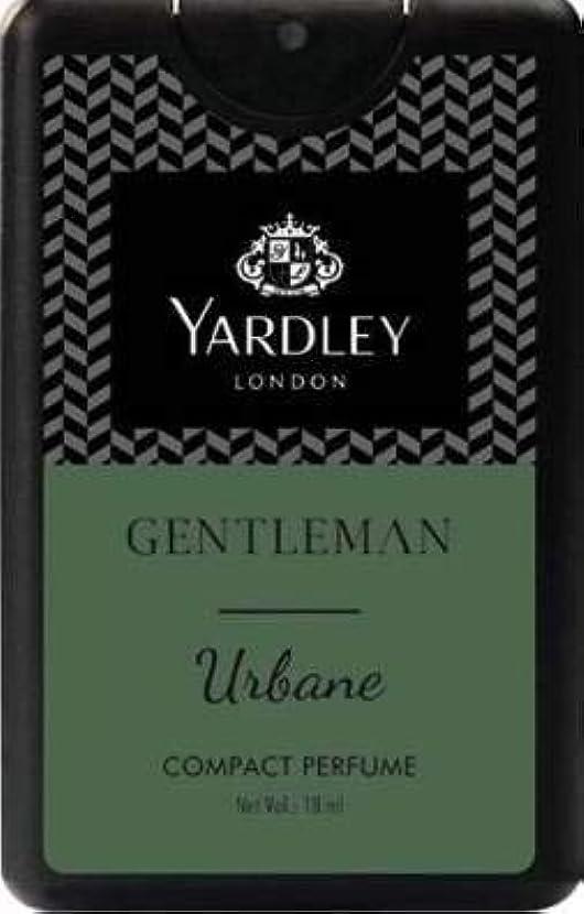 信頼性のあるパトロールライナーYardley Gentleman Urbane Compact Perfume 18 ml