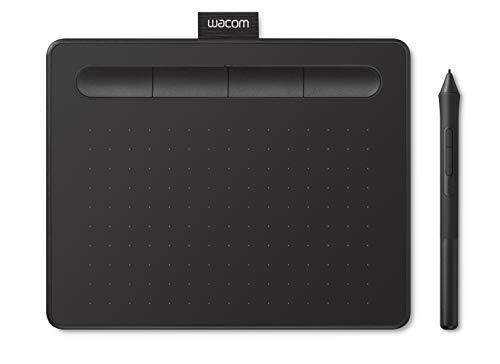 【Amazon.co.jp限定】ワコム ペンタブレット Wacom Intuos Smallベーシック お絵かきソフトウェア付き ブラック データ特典付き TCTL4100/K0