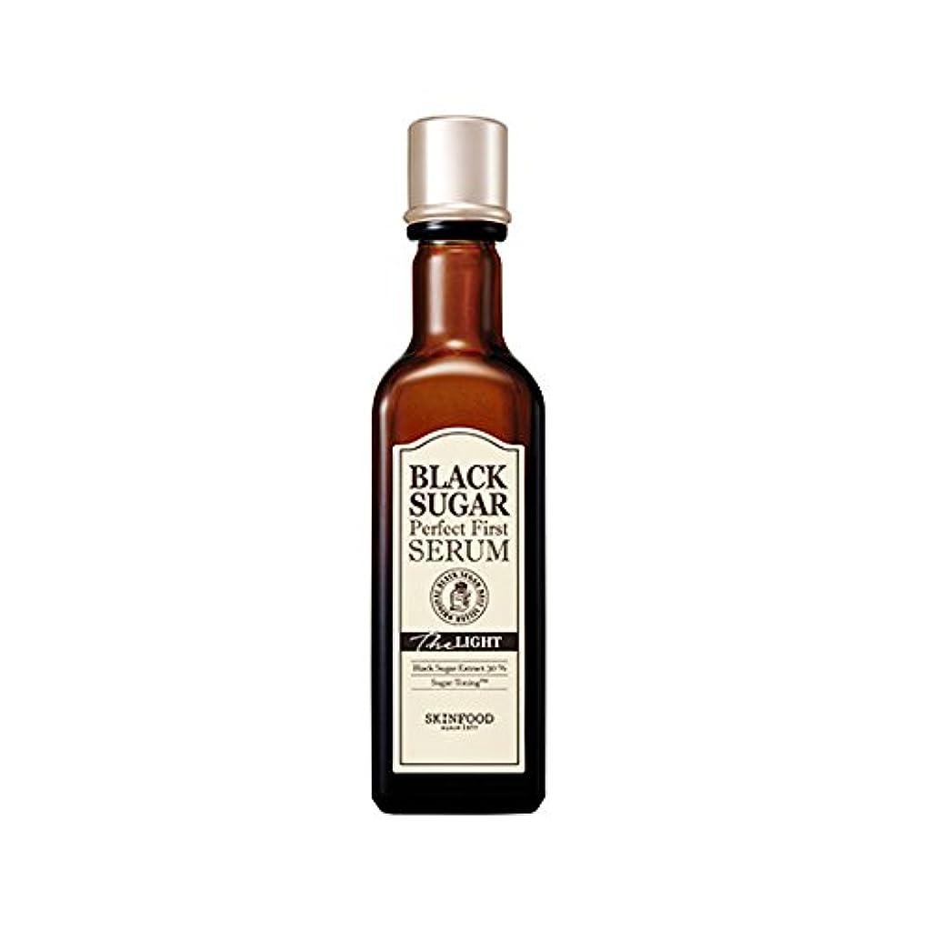 なめらかなピン通行人Skinfood black sugar perfect first serum the light/黒糖完全最初血清ライト/120ml + 60? [並行輸入品]