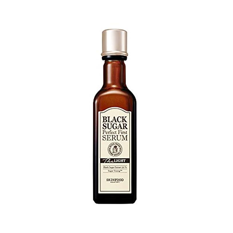その結果許可会員Skinfood black sugar perfect first serum the light/黒糖完全最初血清ライト/120ml + 60? [並行輸入品]
