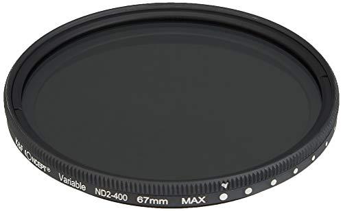K&F Concept 可変式NDフィルター 67mm NDX 減光範囲ND2~ND400 薄枠設計 KF-NDX67