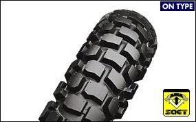BRIDGESTONE(ブリヂストン)バイクタイヤ TRAIL WING TW302 リア 4.60-18 63P チューブタイプ(WT) MCS08473 二輪 オートバイ用