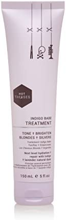 Indigo Babe Rehab Leave In Treatment :: Remove Copper & Brass tones :: Vegan & Cruelty Free :: Brighten Blondes & Silvers