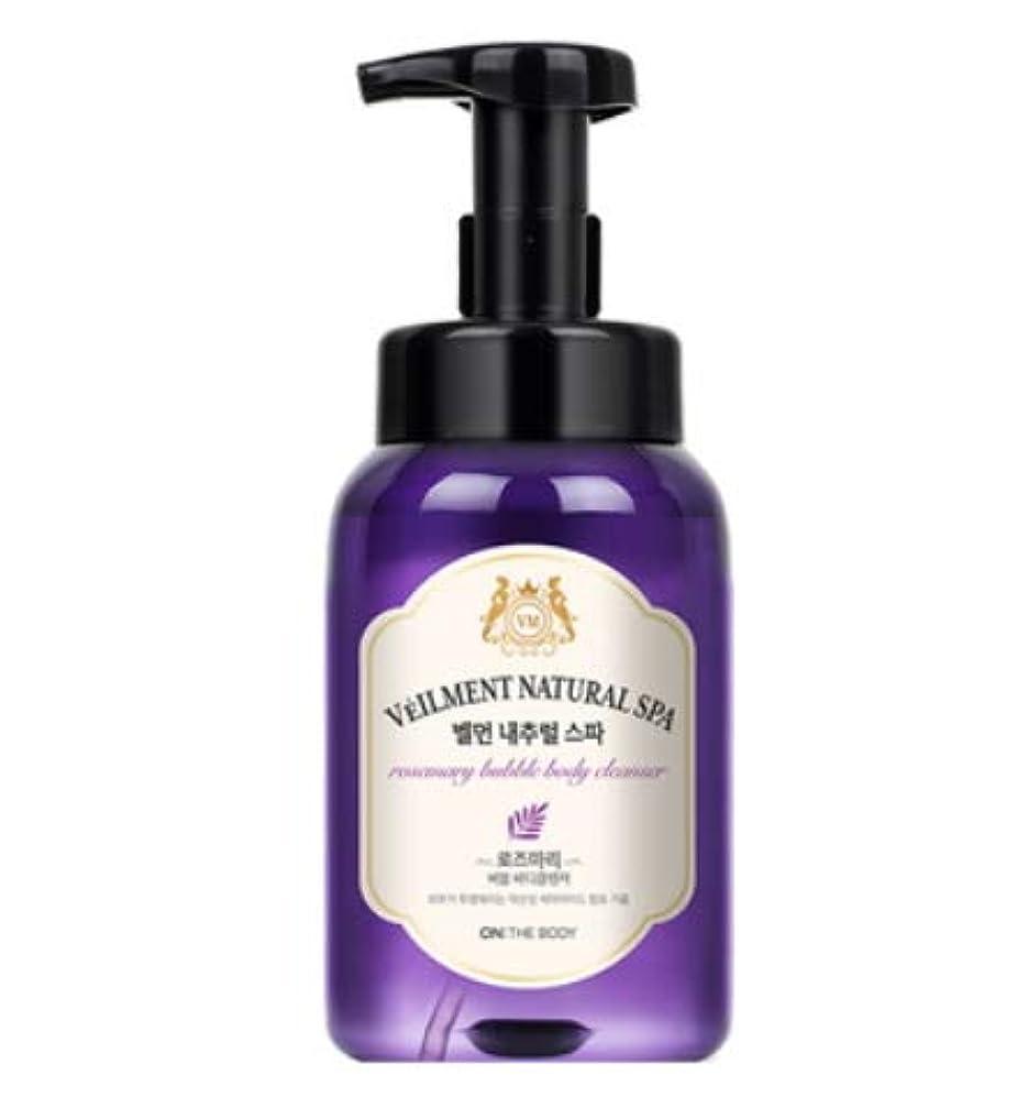耐えられるパターン多用途[LG HnB] On the Body Belman Natural Spa Bubble Body Cleanser/オンザボディベルモンナチュラルスパバブルボディクレンザー 500ml x1個(海外直送品)