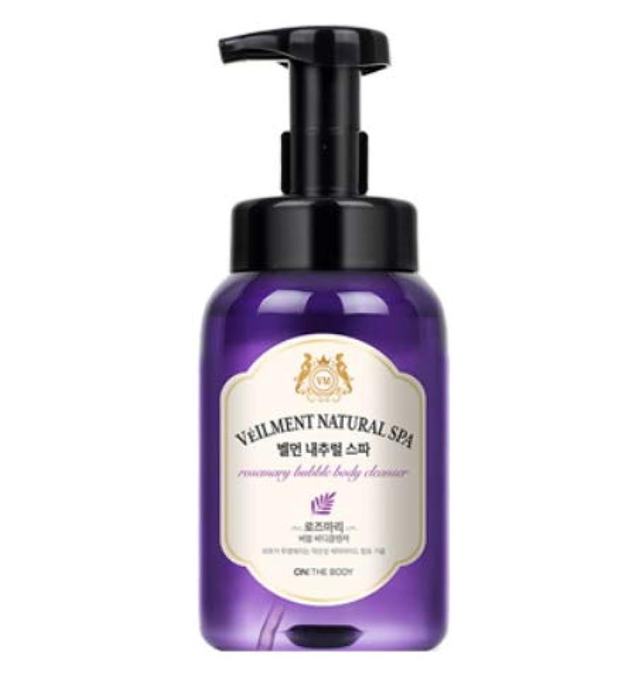 ソートフォーム劣る[LG HnB] On the Body Belman Natural Spa Bubble Body Cleanser/オンザボディベルモンナチュラルスパバブルボディクレンザー 500ml x1個(海外直送品)