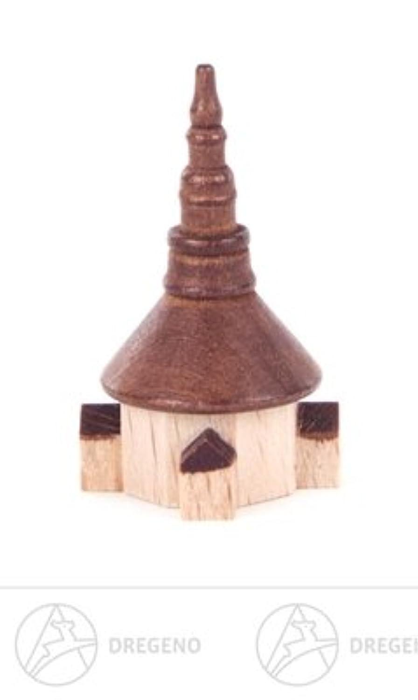 x の深さのミニチュア Seiffener 教会幅 X の高さは 2 つの cmx3 cmx2 cm の鉱石山材木の建物を収容します
