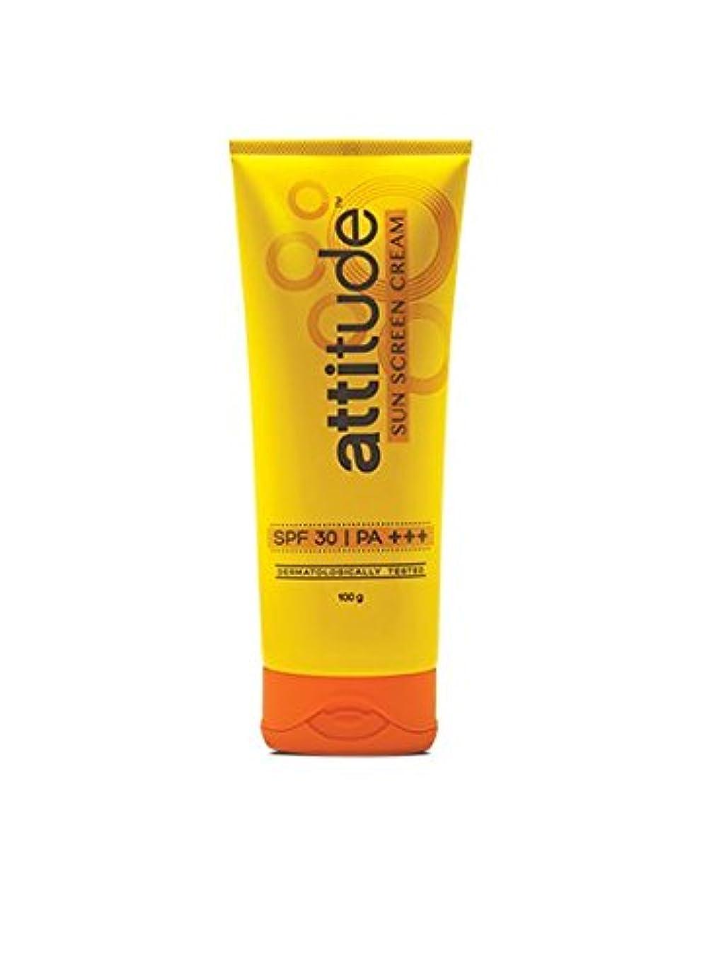 規定浸した進化Amway Attitude Sun Screen Cream With Spf 30 & Pa+++/100 Grams