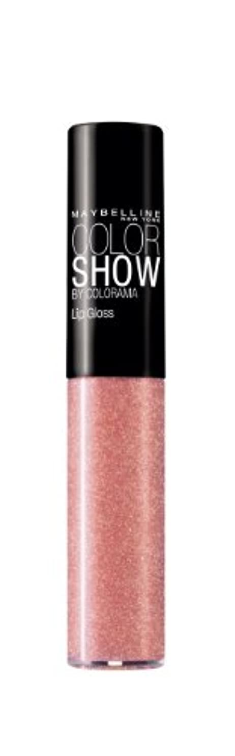 センサーワーカーピアースGEMEY MAYBELINE - GLOSS - COLOR SHOW - 165_barely there pink