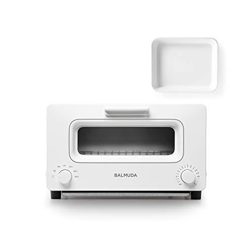 バルミューダ スチームオーブントースター BALMUDA The Toaster K01E-WS(ホワイト)+野田琺瑯ホワイトバット...