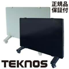 TEKNOS テクノス ガラスパネルヒーター 1000W GP-001 [薄型パネルヒーター] ブラック(K)