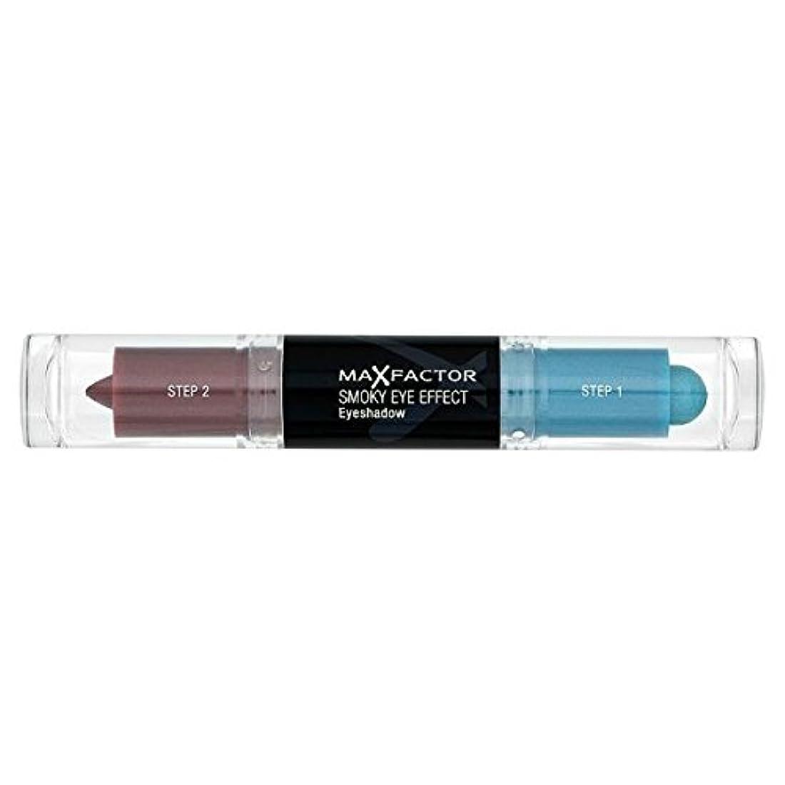 意外ナビゲーション階Max Factor Smoky Eye Effect Eye Shadow Indigo Mist 4