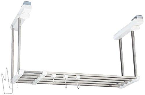 田窪工業所 伸縮吊戸下 はさみ棚 1段幅55~95cmお買得セット HS1-90LK