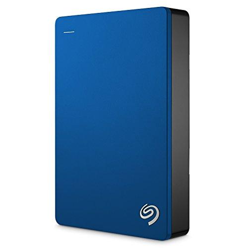 Seagate ポータブルハードディスク 5TB (ブルー/バックアップソフト/2.5インチ/USB3.0/3年保証/正規代理店品) Backup Plus STDR5000302
