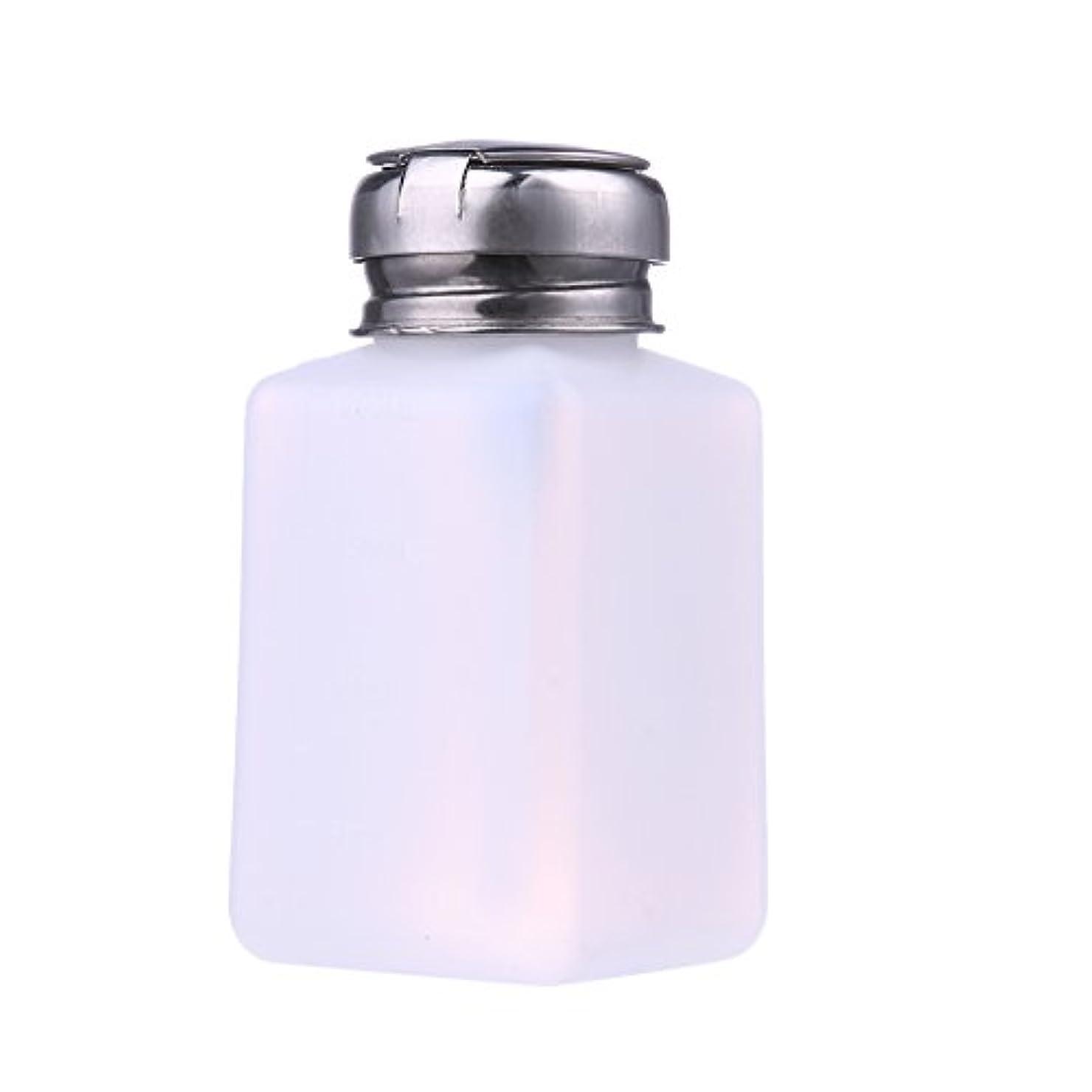 浸食患者硬さSunsoar 圧力ボトル 押すと液体は出る クレンザー ネイルリムーバー 消毒液 酒精