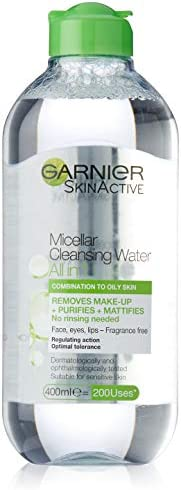 Garnier Micellar Oil to Combination Cleansing Water 400ml