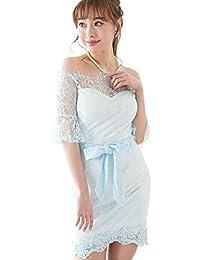 33e082a131089 ドレス キャバ ドレス パーティードレス 大きいサイズ ワンピース ミニドレス ナイトドレス キャバクラ キャバ嬢 タイト ペプラム 総レース オフショルダー…