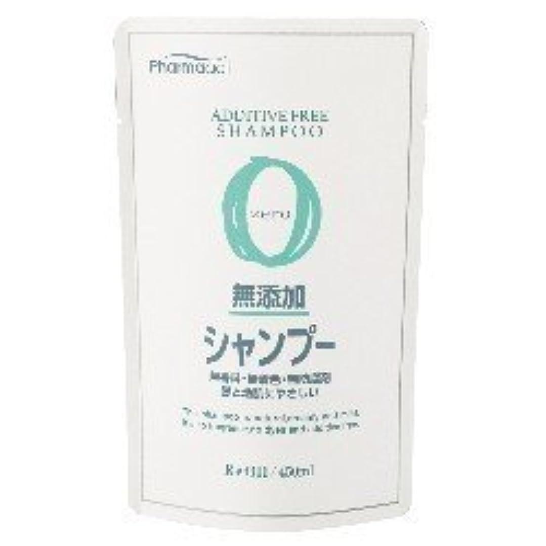 イブ肝慣れている熊野油脂 ファーマアクト 無添加シャンプー 詰め替え用 450mL×24個セット  無香料?無着色?無防腐剤