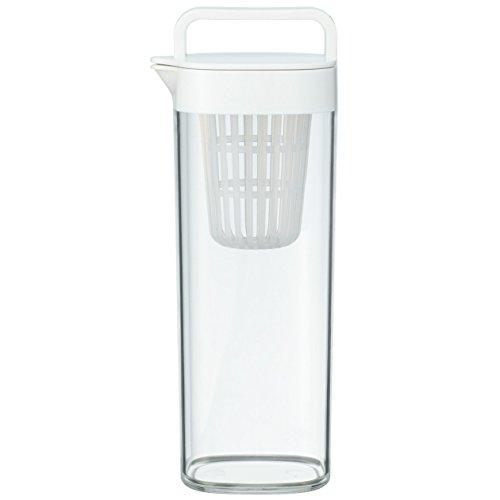 無印良品 アクリル冷水筒・ドアポケットタイプ 冷水専用約1L