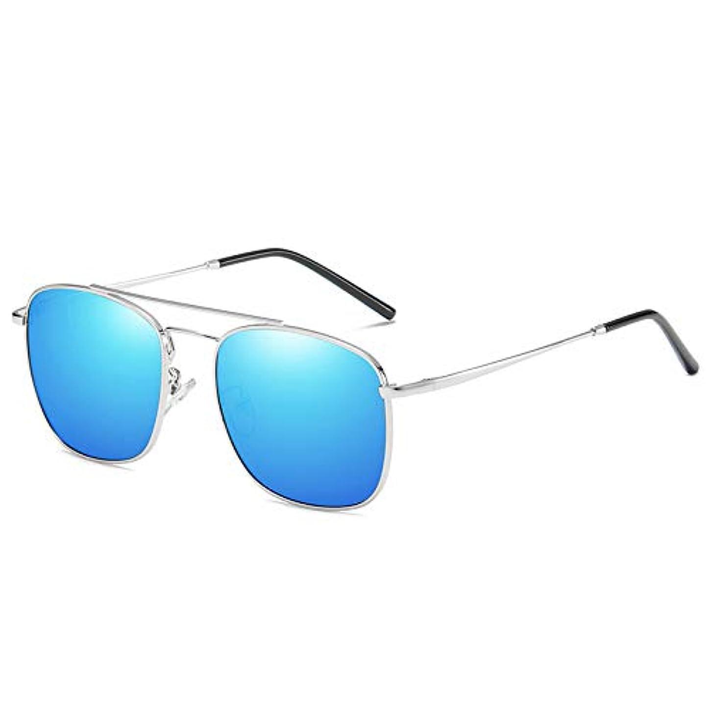 ちなみに黒くする余韻サングラス - クラシック偏光スクエアサングラス、UV 400、アンチグレア、可視光透過率99%、メンズサングラス