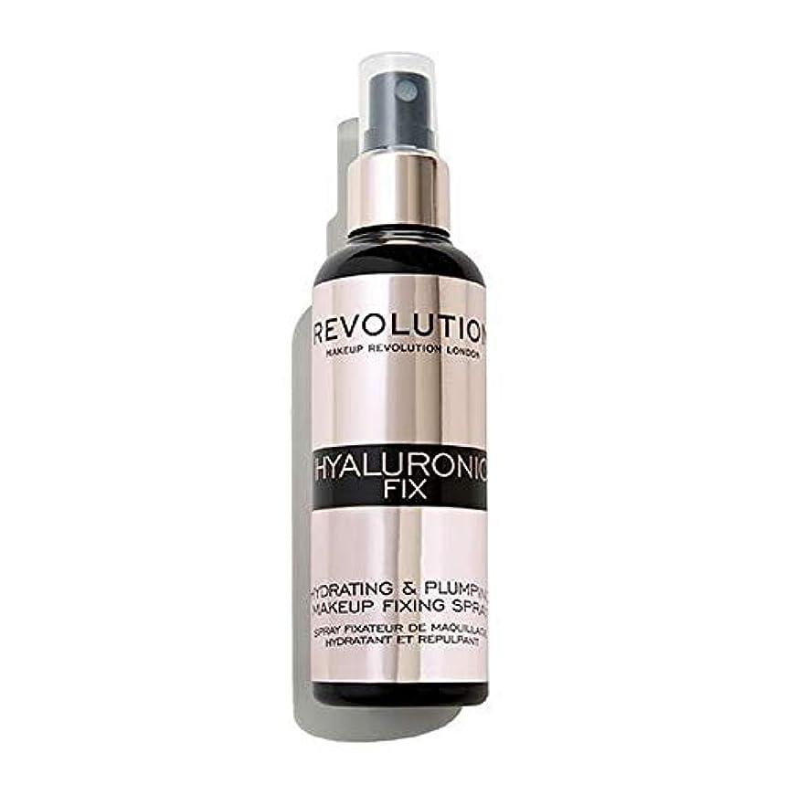 四面体深める伝染性の[Revolution ] 化粧革命ヒアルロン固定スプレー - Makeup Revolution Hyaluronic Fixing Spray [並行輸入品]