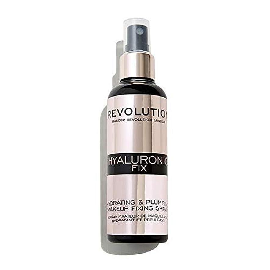 クリープドラフト哲学[Revolution ] 化粧革命ヒアルロン固定スプレー - Makeup Revolution Hyaluronic Fixing Spray [並行輸入品]