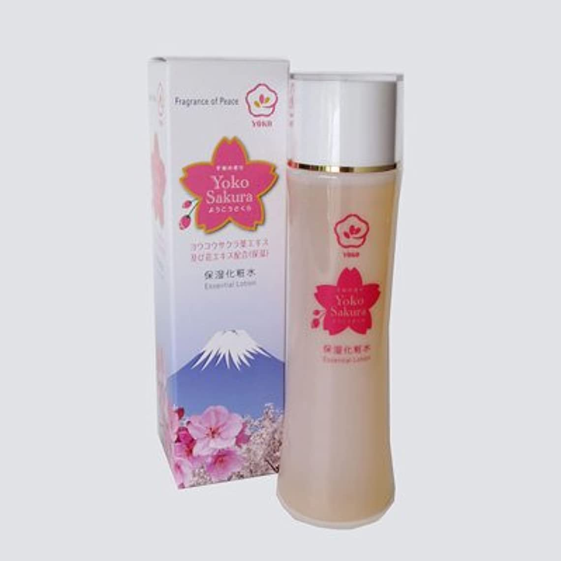 鋼大声でオートメーション陽光ローション(保湿化粧水) 陽光桜のエキス配合の保湿化粧水。敏感肌の方にもどうぞ