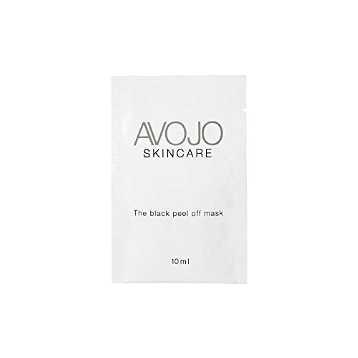 実業家クライマックス人物Avojo - The Black Peel Off Mask - Sachet (10ml X 4) - - ブラックピールオフマスク - 小袋(10ミリリットル×4) [並行輸入品]
